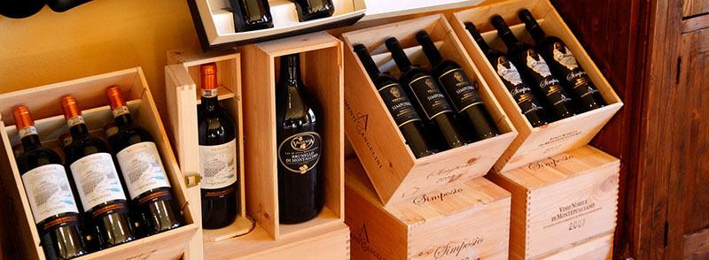 Ristorante Borgo Tre Rose vini della cantina