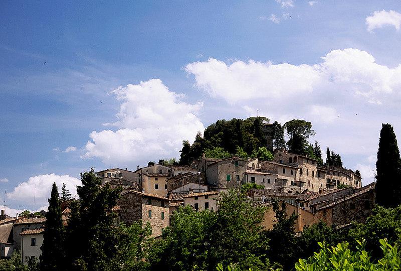 Sarteano paesaggio