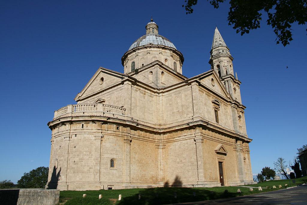 Chiese da visitare a Montepulciano: il Tempio di San Biagio, costruito 500 anni fa