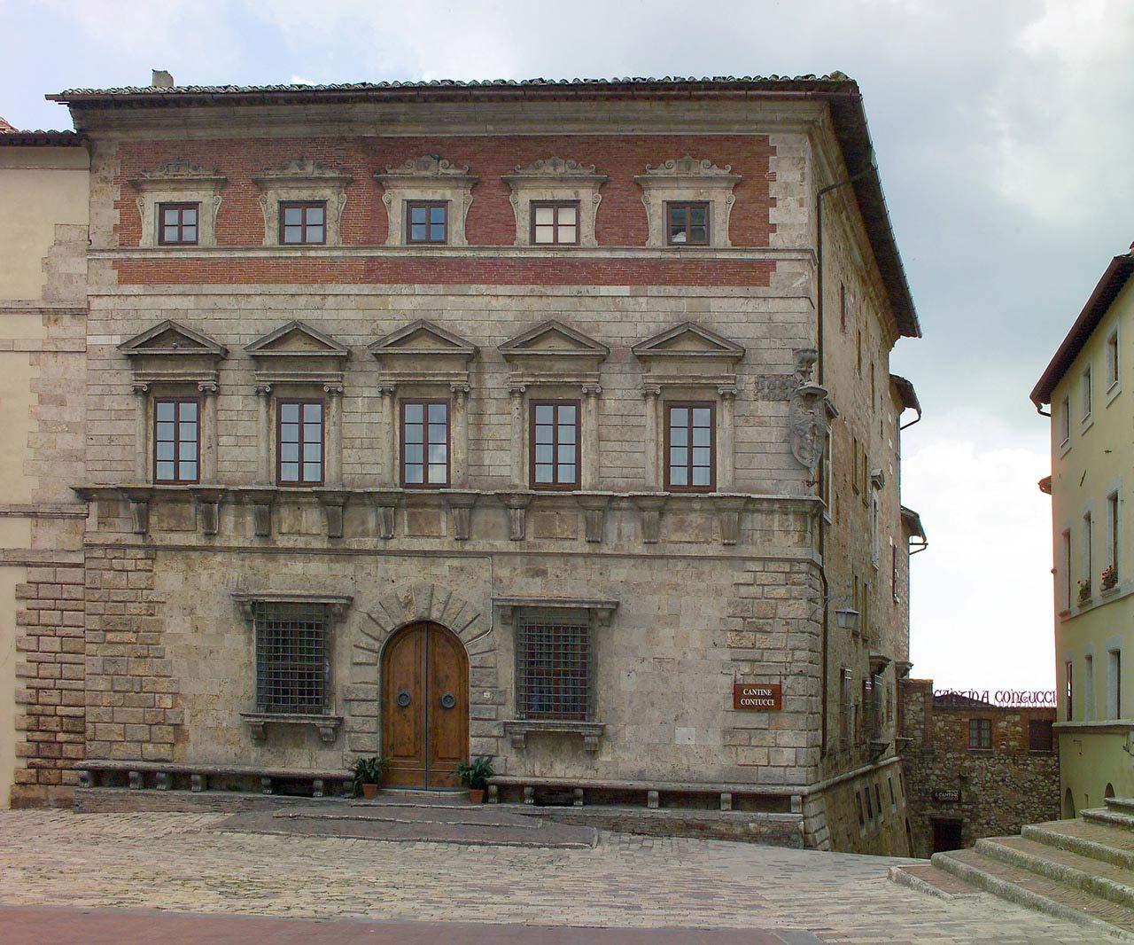 Palazzo Contucci a Montepulciano