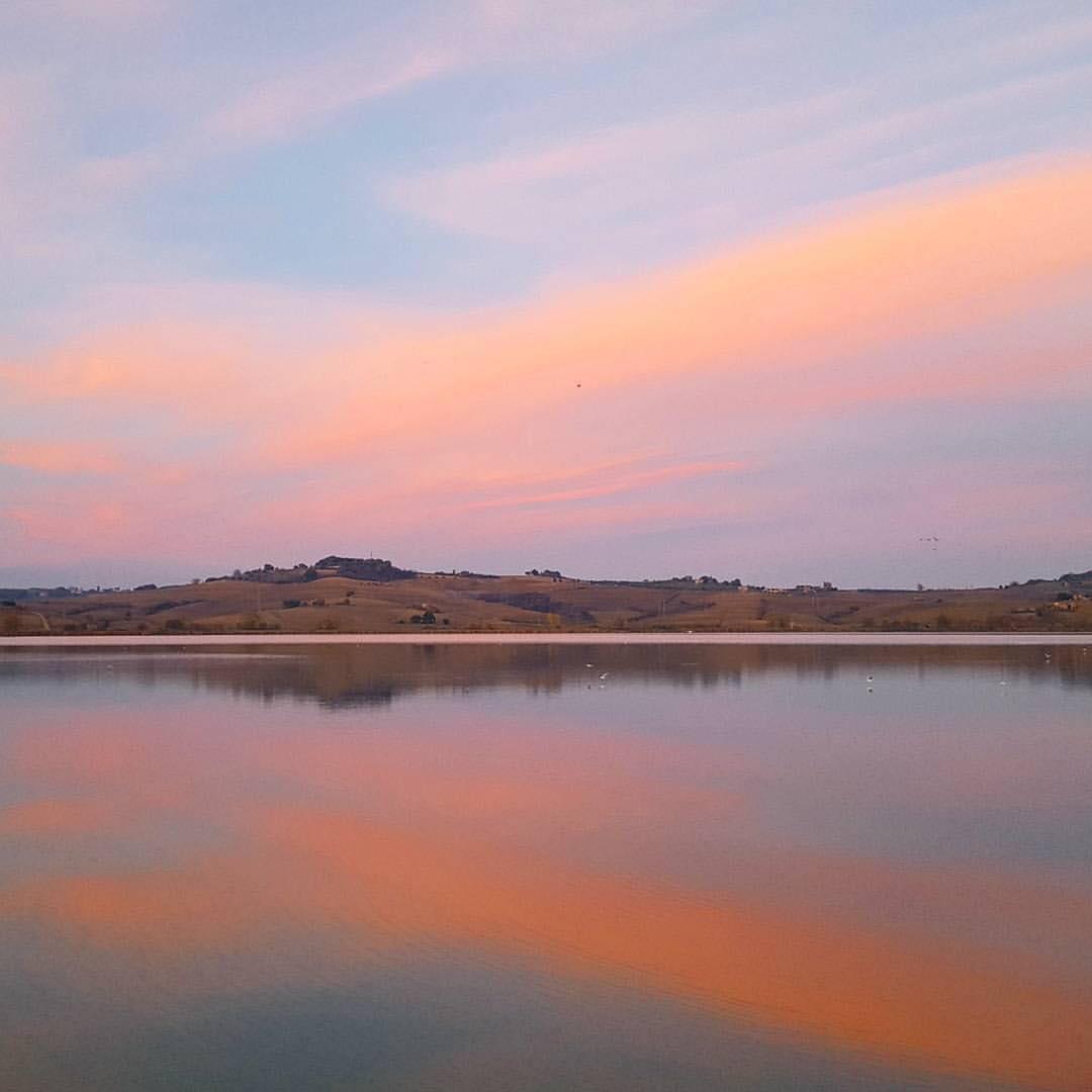 Veduta del Lago di Chiusi