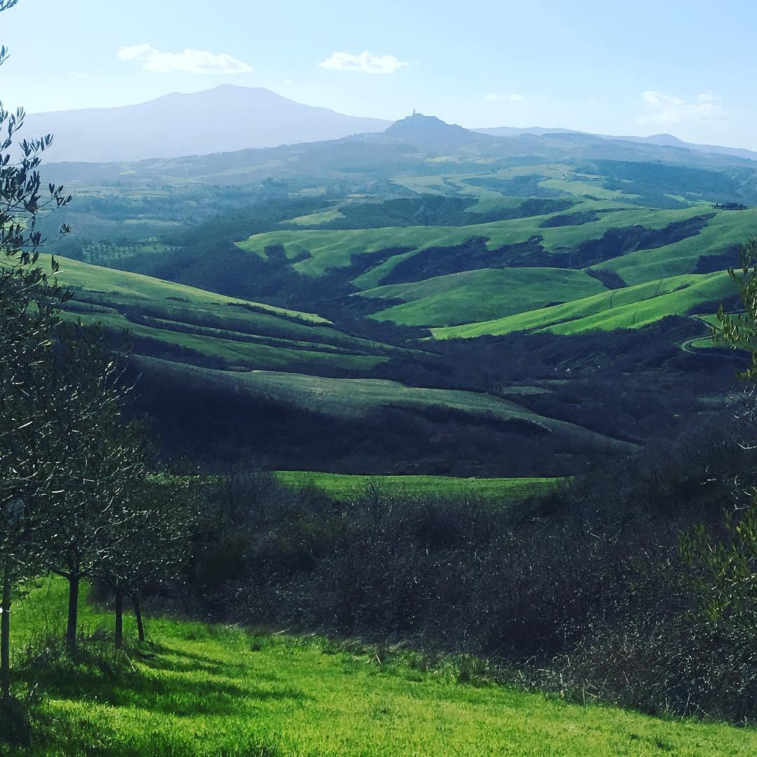 San Casciano dei Bagni vista panoramica
