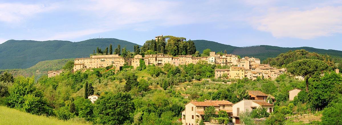 Panorama di Cetona