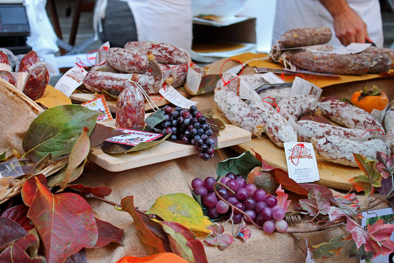Degustazioni di prodotti tipici della Val di Chiana a Montepulciano