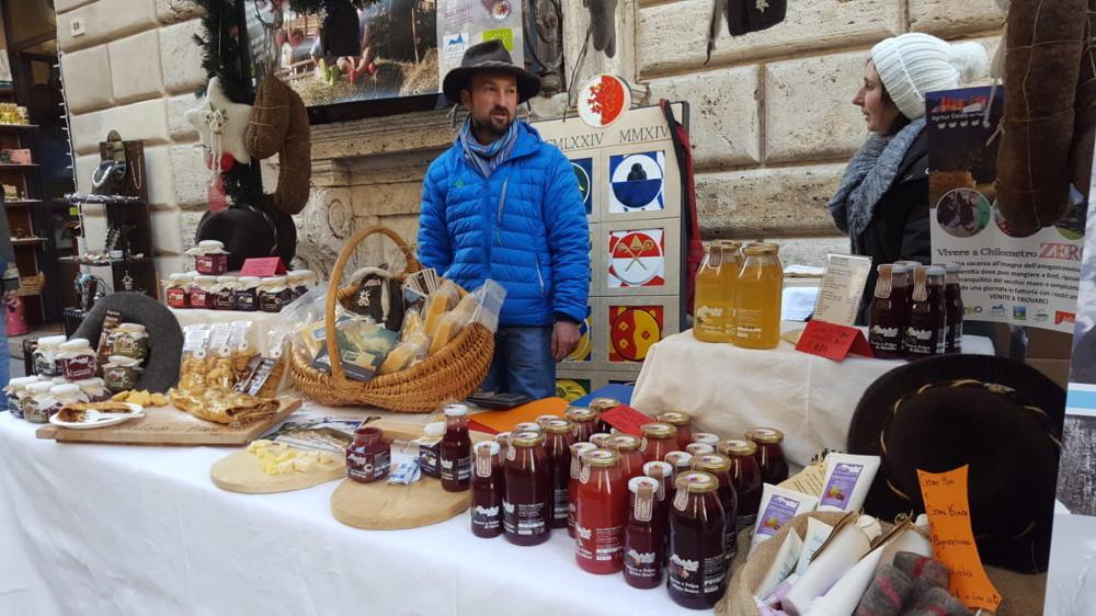 Produttori locali alla fiera Toscana Gustando