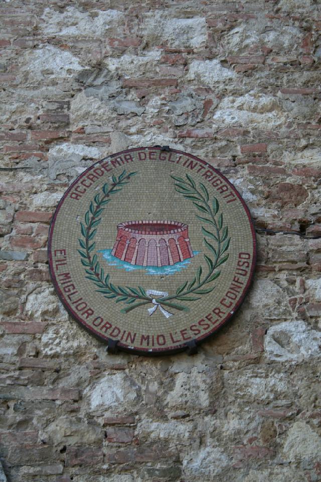 Accademia degli Intrigati Montepulciano