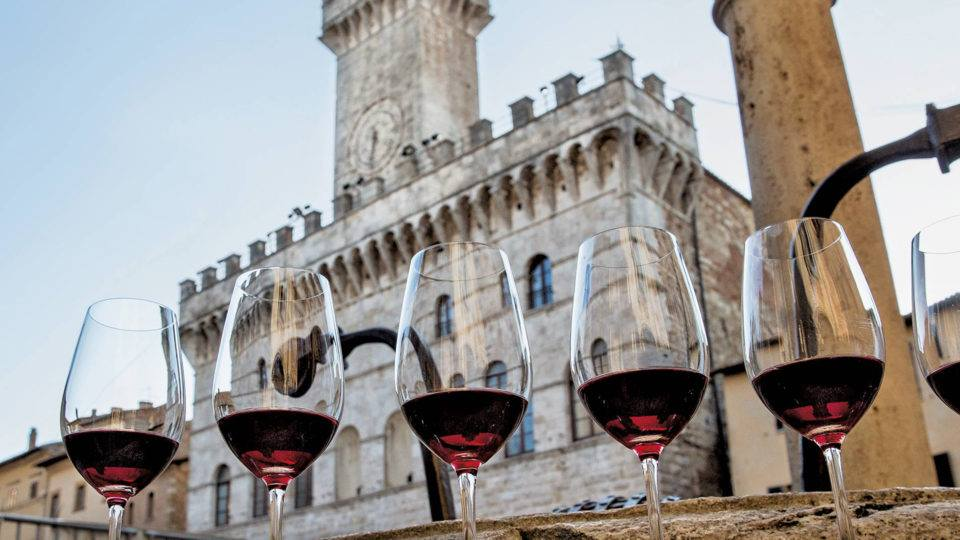 Tasting of Vino Nobile at the Fortress of Montepulciano