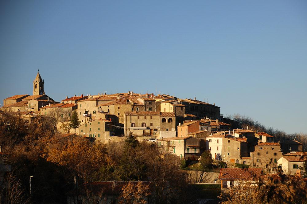 Veduta di Montelicello Amiata
