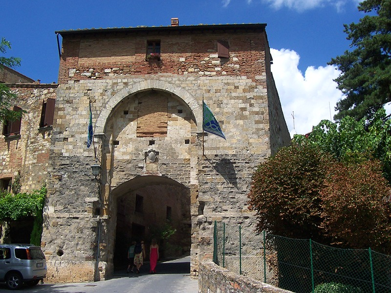 The history of Cagnano district in Montepulciano