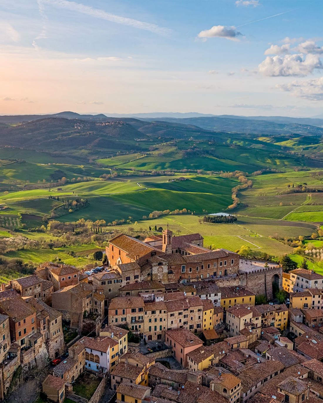 Cycling routes in Montepulciano and surroundings