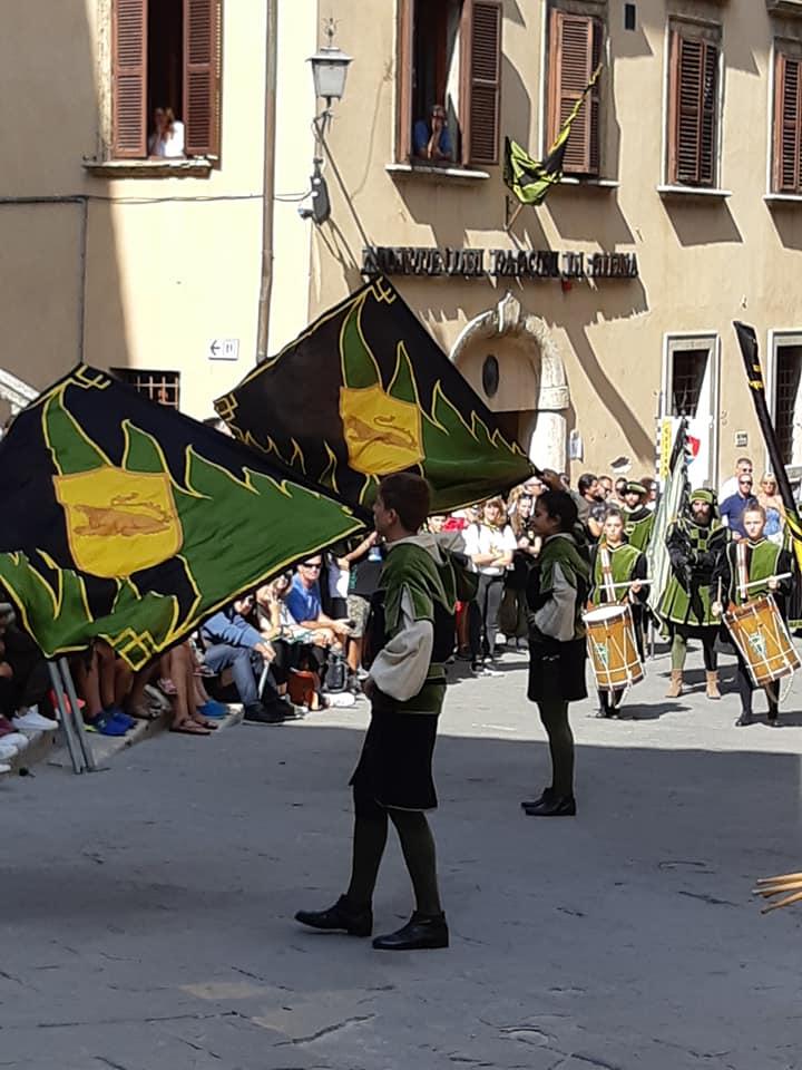 Historic reenactement Montepulciano