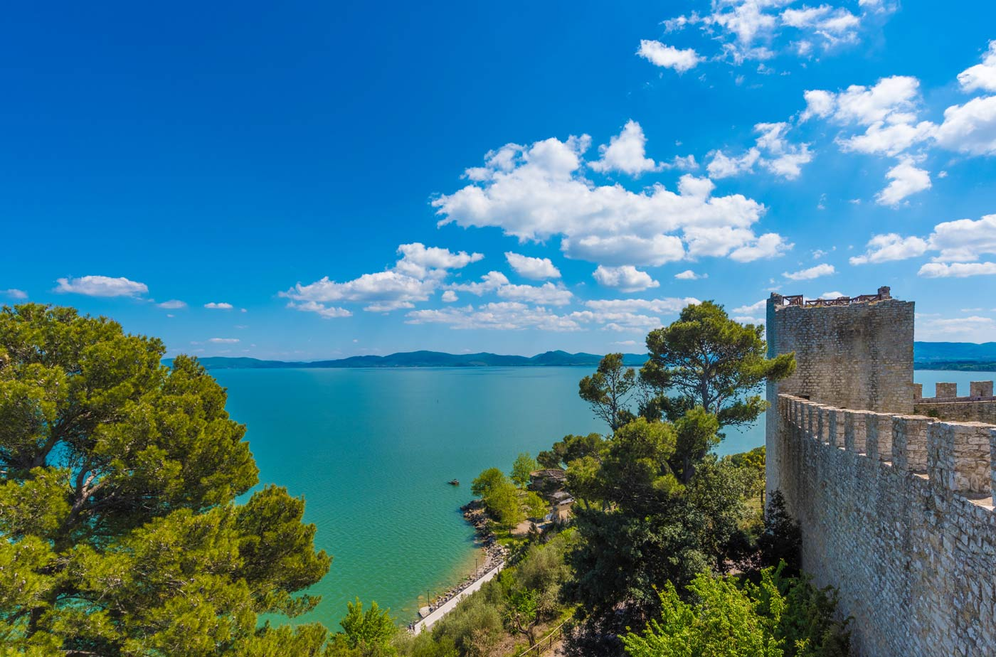 what to see in one day on Lago Trasimeno