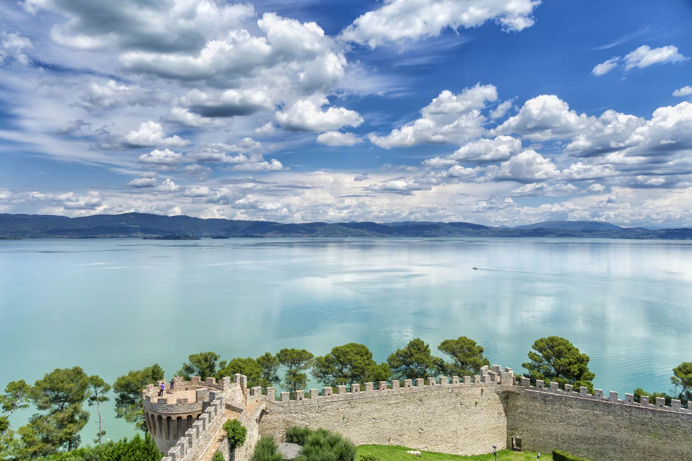 what to see on Maggiore island at Lake Trasimeno