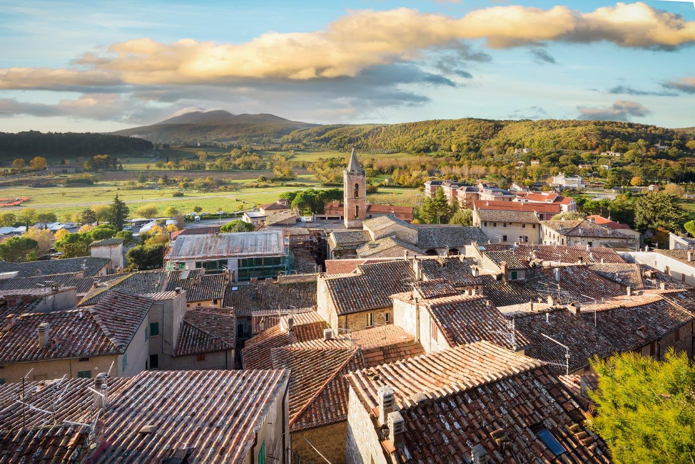 Sarteano Borgo in Toscana