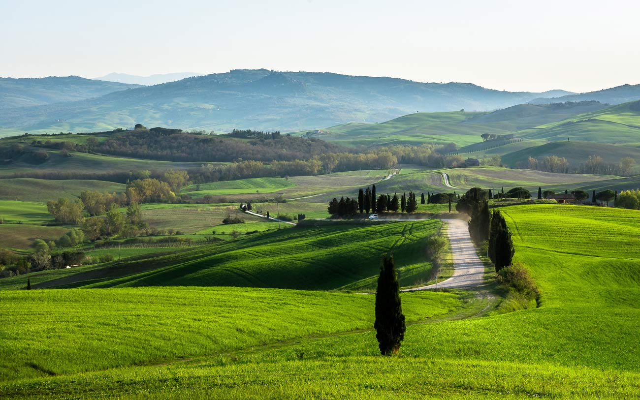 What to see in Val d'Orcia