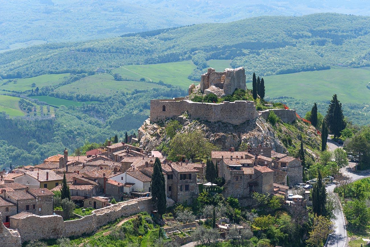 Castiglione d'Orcia bike route